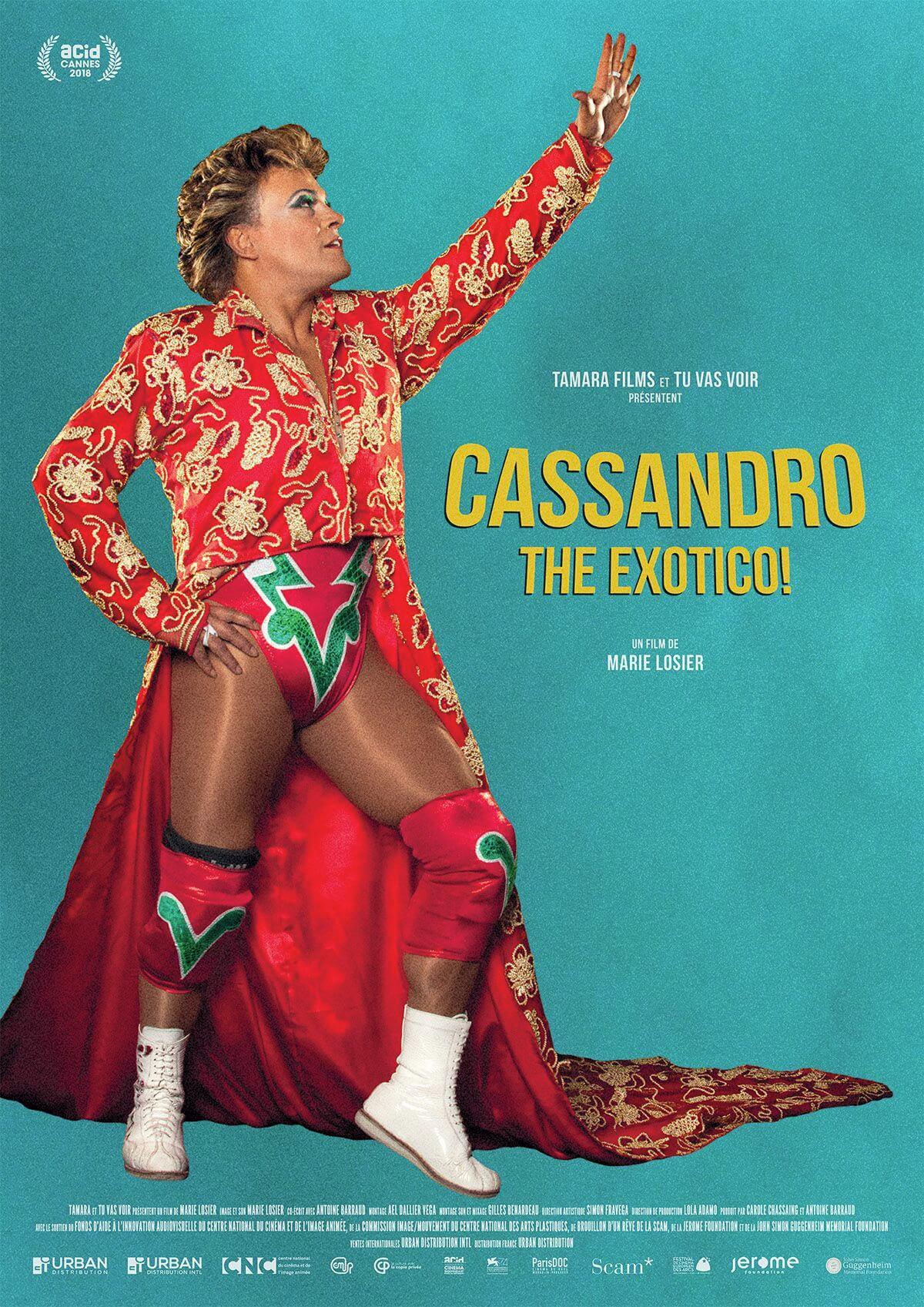 Cartel de Cassandro, The Exotico! (VOS en inglés)