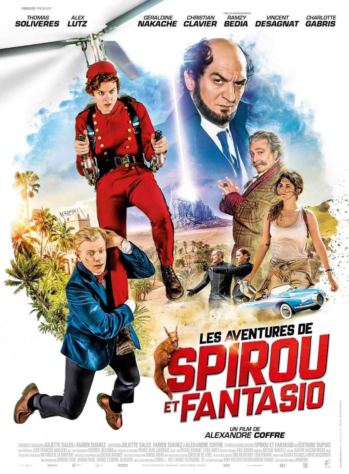 Cartel de Les Aventures de Spirou et Fantasio (VOSE)