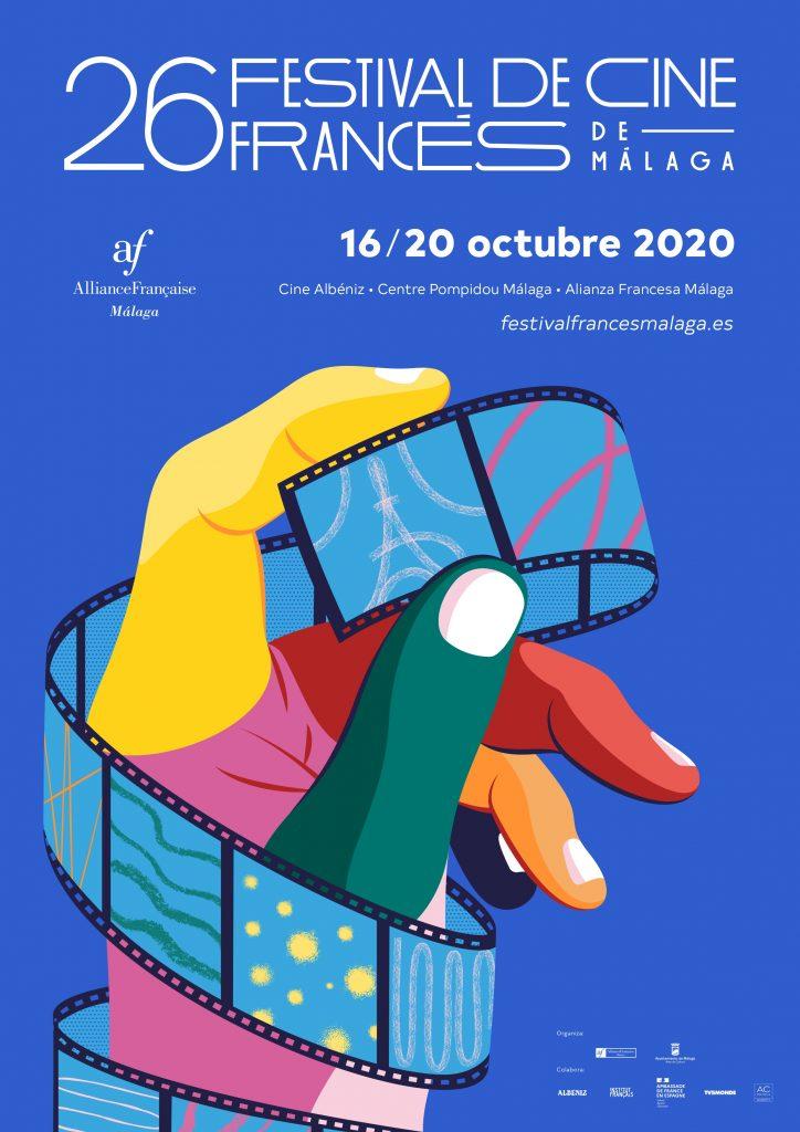 Cartel del Festival de Cine Francés de Málaga 2020