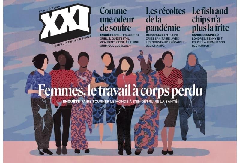 La revista XXI mezcla la ilustración y la fotografía con la literatura y el periodismo de reportaje