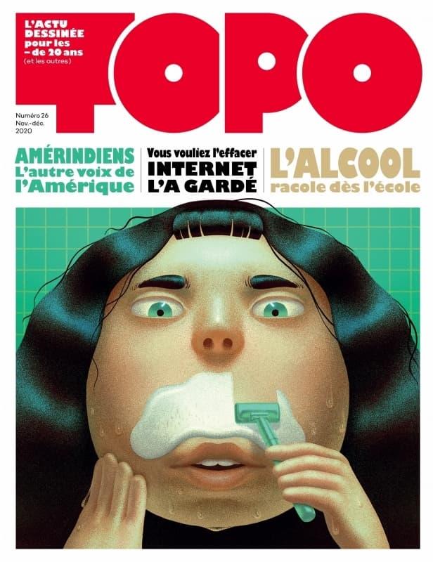 Topo es una revista francesa para menores de 20 años