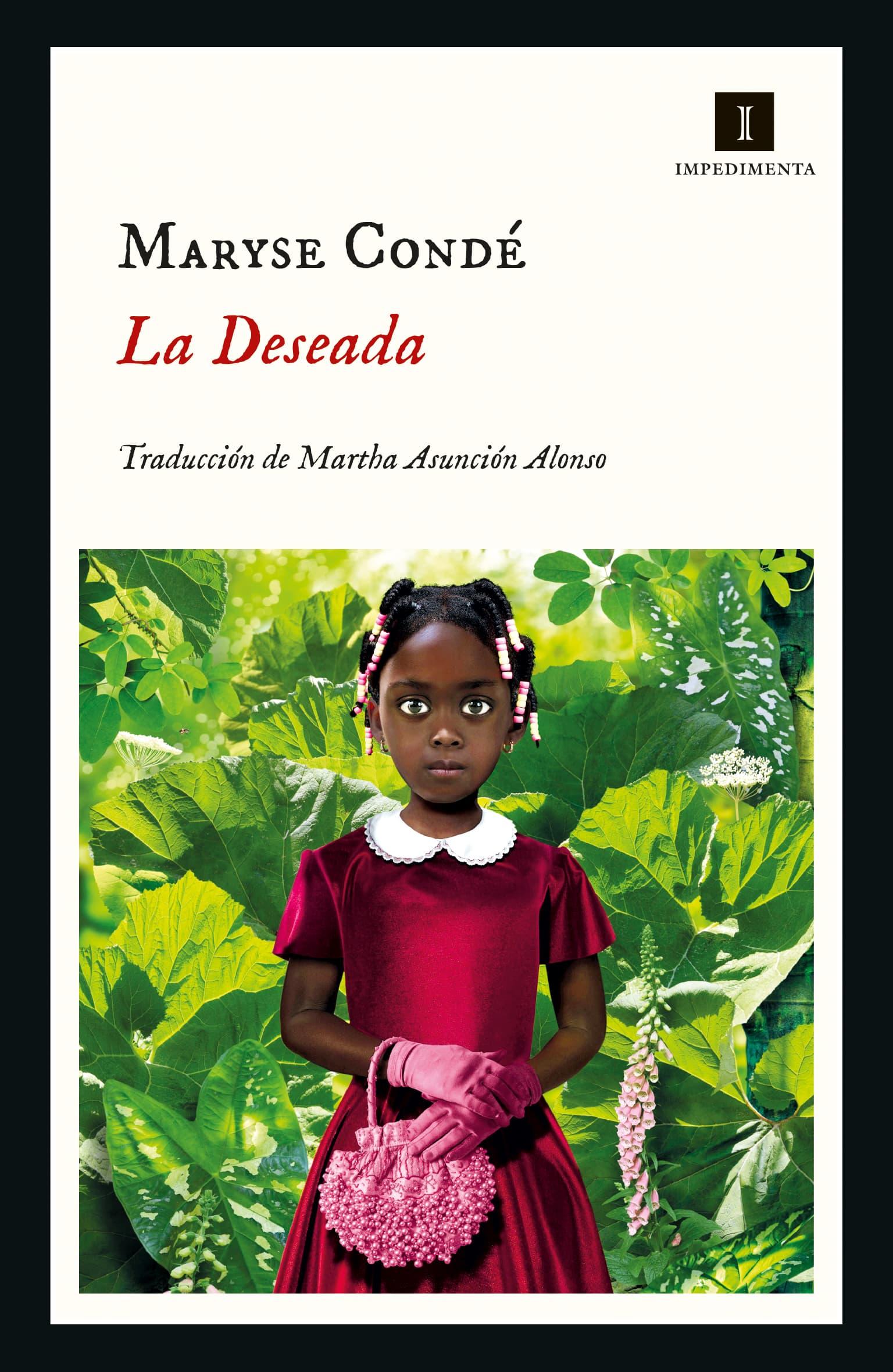 Cubierta de La Deseada, la última novela de Maryse Condé publicada en España