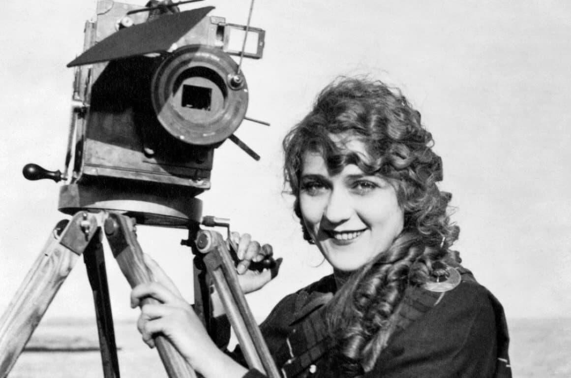 Fotografía de Alice Guy a principios del siglo XX