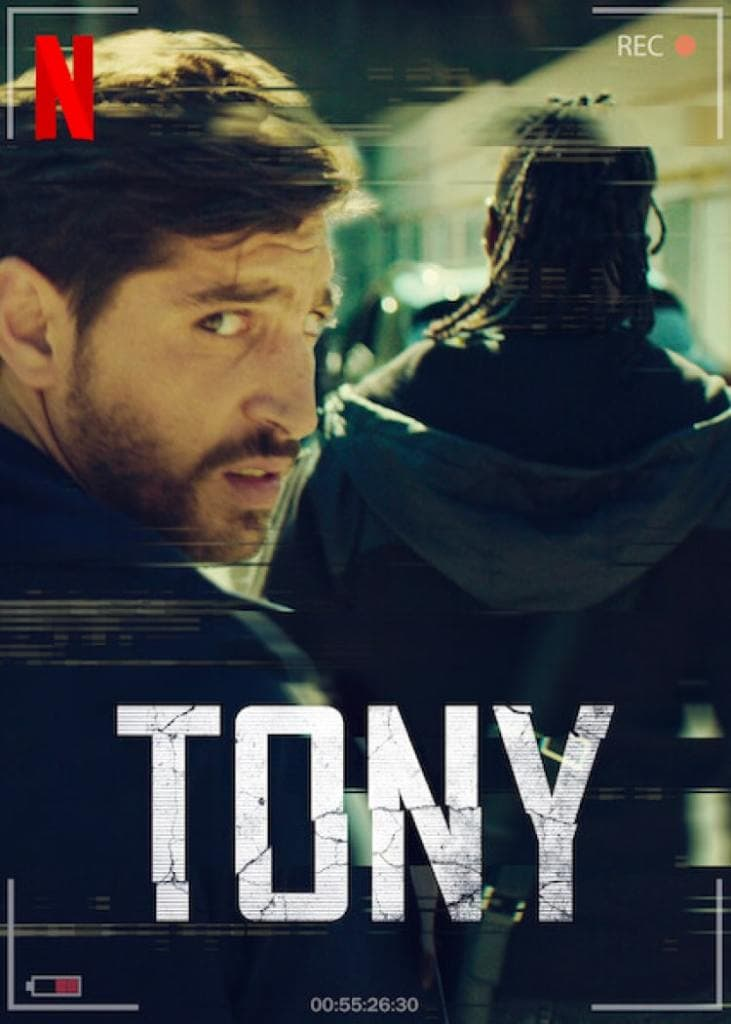 """Poster promocional de """"Tony"""""""